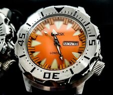 Sea Monster Watch- Norsk  (London medal winners) - Diver - Citizen Movt- Orange