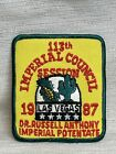 Masonic Shriner 113Th Imperial Council Session 1987 Las Vegas Imperial Patch