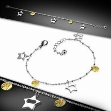 Stainless Steel/Anklet With Chain Bracelet With Charms Stars