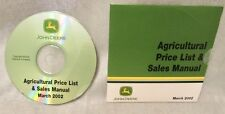 John Deere Agricultural Price List & Sales Manual (March 2002)  CD