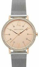 Vince Camuto 34mm Crystal Rose Tone Women's Watch Retail Cyber Monday