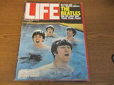 LIFE MAGAZINE FEB 1984-THE BEATLES 20 YEARS AGO SUPERB PHOTOS VG