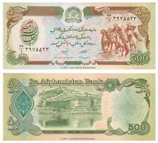 Afganistán 500 afganos 1979 P-60a Billetes Unc