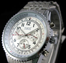 Luxury Men's Full Steel Automatic Mechanical Business Data Sports Wrist Watch