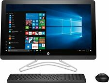 "HP 23.8"" All-in-One Desktop Computer i3-7th CD/DVD 8GB SSD UPGRADE HP 24 E014"