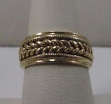 by S.B. Size 7.25 #R290 14K Solid Gold Designer Wedding Band