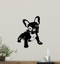 French Bulldog Wall Decal Dog Pet Animal Vinyl Sticker Nursery Decor Art 114aaa