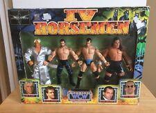 Wcw IV 4 Horseman Action Figures New Sealed Box Chris Benoit Ric Flair rare