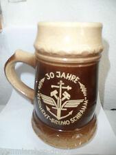 24365 NVA Reservistenkrug DDR Bruno Schramm 30 Jahre Regiment 17cm beerstein