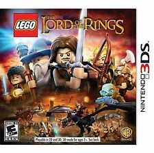 LEGO LORD OF THE RINGS * NINTENDO 3DS * BRAND NEW FACTORY SEALED!