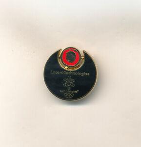 Lucent Technologies Spinner Logo Salt Lake 2002 Olympic Sponsor Pin