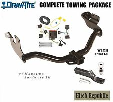 "CLASS 3 DRAW TITE TRAILER HITCH PACKAGE 2"" BALL FOR 2008-2012 FORD ESCAPE 75751"