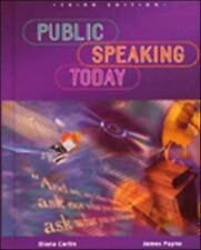 Public Speaking Today, Student Edition (NTC: SPEECH COMM MATTERS), McGraw-Hill E