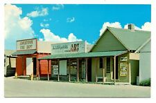 Frontier Village North Dakota Jamestown Vintage Postcard Firehouse Printing Shop