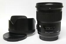 Sigma 1,4 / 50 mm  DG HSM ART Objektiv für SONY A-Mount  gebraucht in ovp