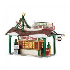 Dept 56 Snow Village New Birch Island Gas Station 4049210 Dept 56 Dealer Stock