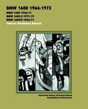BMW 1600 1966-73 Owners Workshop Manual (2001, Hardcover, Reprint)