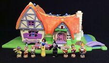 Polly Pocket Mini 💛  1995 - Disney Snow White and the Seven Dwarfs 7 Zwerge