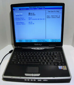 Winbook J4-G732 15'' Notebook/Laptop - NO HDD - AS IS