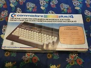 Commodore plus 4 made in england vintage computer