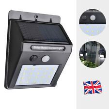 20LED Solar Sensor Flood Lights Wall Outdoor Garden Path Fence Lamp Security