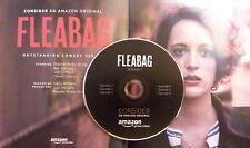 FLEABAG Complete Season 1 FYC DVD 2018 Amazon Prime EMMY 6 Episodes DISC ONLY VG