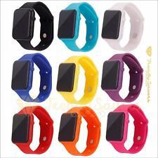 Womens Ladies Mens Kids Digital LED Waterproof  Sports Wrist Watches