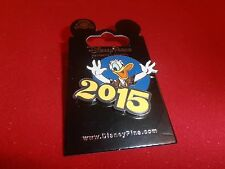1 Disney Pin - 2015 Donald Duck New on Card - As Shown. lot M
