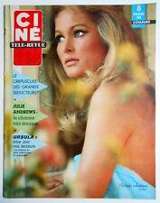 ►CINE REVUE 14/1966-URSULA ANDRESS-VERONIQU VENDELL-JULIE ANDREWS-VIRGINIA MAYO-