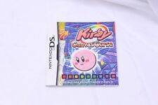 Nintendo DS -   Kirby Canvas Curse - Instruction Manual Only