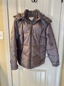 St. John's Bay Women's Faux Fur Hood Winter Jacket XL