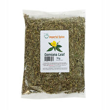 Damiana Dried - Leaf 50g - Aphrodisiac and Sexual boost - Herbal Tea - Smoking