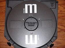 "MINT BLACK MAXELL EMPTY 1/4"" 10.5"" TAKE UP METAL REEL TO REEL 3M ATR CASE L@@K!"