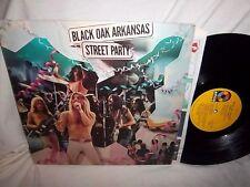 BLACK OAK ARKANSAS-STREET PARTY rock vinyl LP