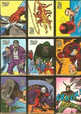 1998 Marvel SILVER AGE '98 FULL 100 Cards SET - RARE!!!