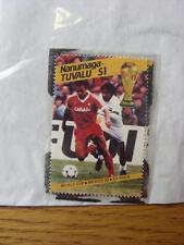 1986 World Cup Stamp: Nanumea-Tuvalu - Canada Player