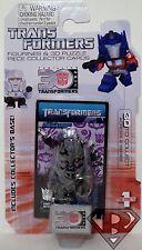 "MEGATRON MOVIE Transformers 30th Anniversary 1 1/2"" inch Mini Figure Wave 1 2014"