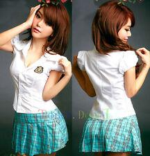 Hot clubwear Adult lolita Costume Naughty School Girl Dress cosplay Uniform A99
