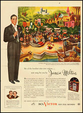 1940s vintage ad for Rca Victor Records, James Melton -120911