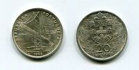 Portugal 1966 Salazar Bridge 20 Escudos Silver Coin KM592