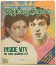 ROLLING STONE MAGAZINE ISSUE 410 MICHAEL JACKSON PAUL MCCARTNEY 1983 VERY RARE!!
