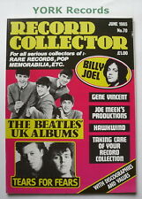 RECORD COLLECTOR MAGAZINE - Issue 70 June 1985 - Beatles / Billy Joel