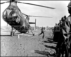 US Army Piasecki H-21 Shawnee Helicopter Korea 1964 8x10 Aircraft Photos