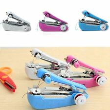 Mini Sewing Machine Patchwork Overlock DIY Fabric Hand-held Needlework Tool New