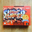 Street Fighter II Con Manual Super Nintendo 64 Nes PAL Noe Germany Versión New
