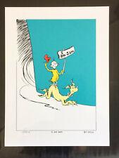 "Dr Seuss  ""I AM SAM"" Estate Edition Signed Numbered  w/ COA"