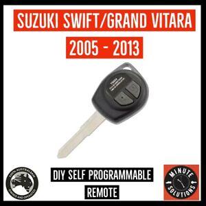 Fits Suzuki Swift Vitara Key Remote 2005 2006 2007 2008 2009 2010 2011 2012 2013