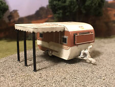 Catolac Deville 1/64 Weathered Barn Find Custom Camper Trailer Diecast Abandoned