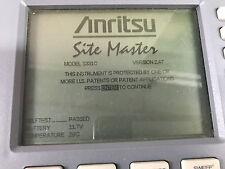 Anritsu S331C SiteMaster Cable & Antenna Analyzer