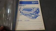 PERKINS Workshop Manual DIESEL V8.540M TV8.540M SERVICE Shop Manual FN197